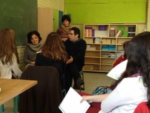 Practicando con nuestros alumnos mediadores