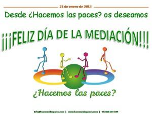 ¡¡¡Feliz Día de la Mediación!!!