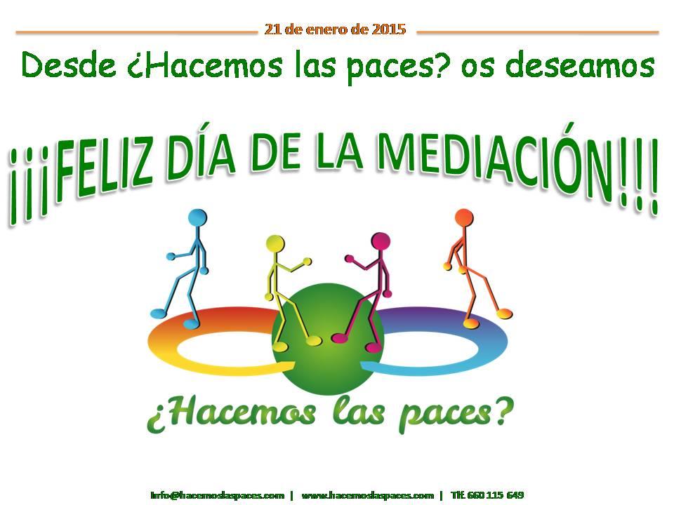 Dia mediación Hacemos las paces