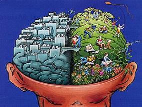 Test de hemisferios cerebrales.