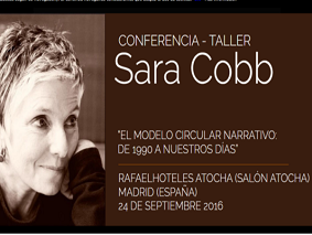 Sara Cobb estuvo en Madrid