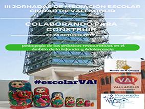 III Jornadas de mediación escolar en Valladolid