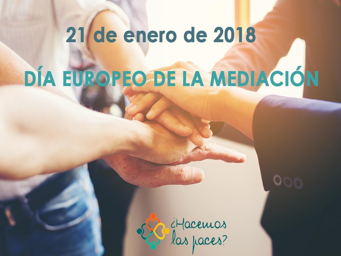 Eventos Día de la mediación 2018 hacemos las paces