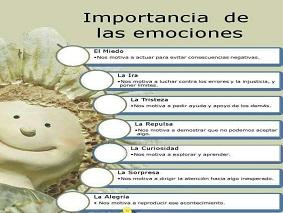 importancia de las emociones